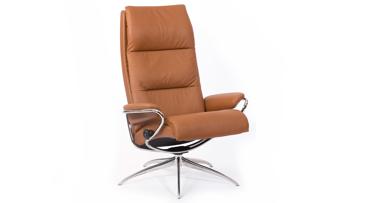 Tokyo Stressless Highback Chair and Ottoman