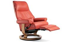 View Stressless Recliner with Leg Comfort