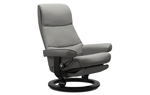 View Stressless Recliner with Power Leg & Back