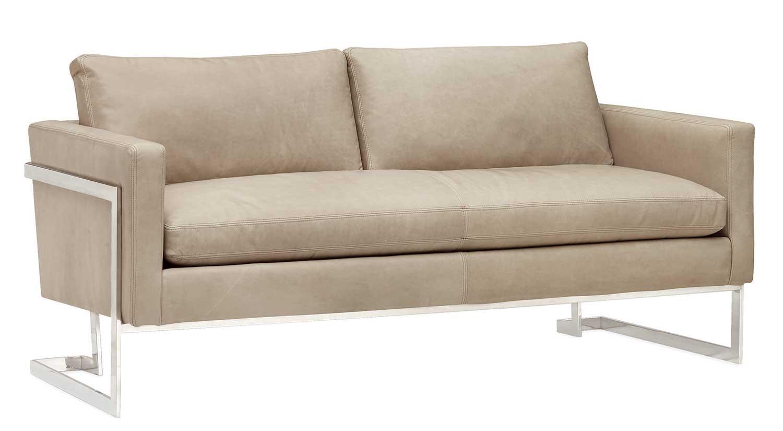 Peyton Leather Sofa Circle Furniture Peyton Sofa Modern