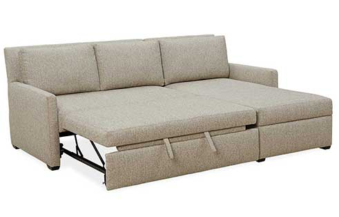 sis chaise queen customize corner shape u sofa bennett stanton true sectionals product fabric moon personalize in sectional by and the sleeper