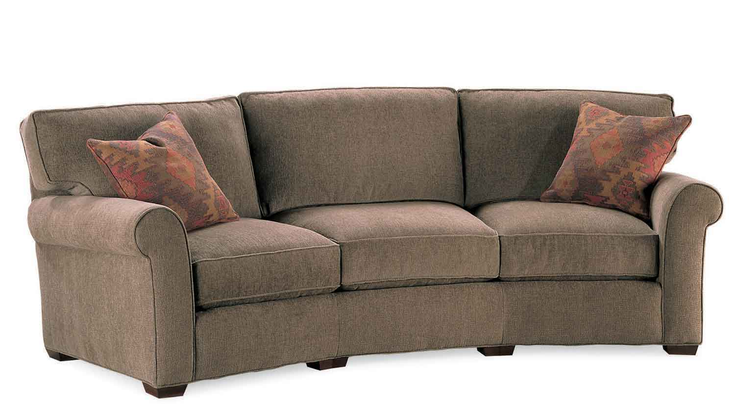 Circle Furniture Taylor Wedge Sofa Wedge Couches Ma