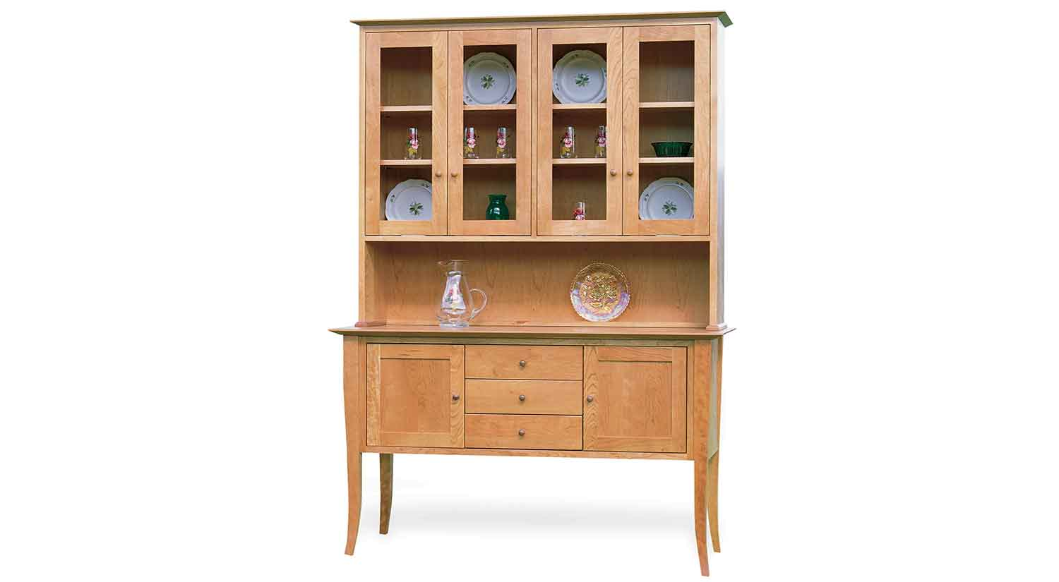 Circle Furniture 56 Quot Flare Leg Buffet And Hutch Dining