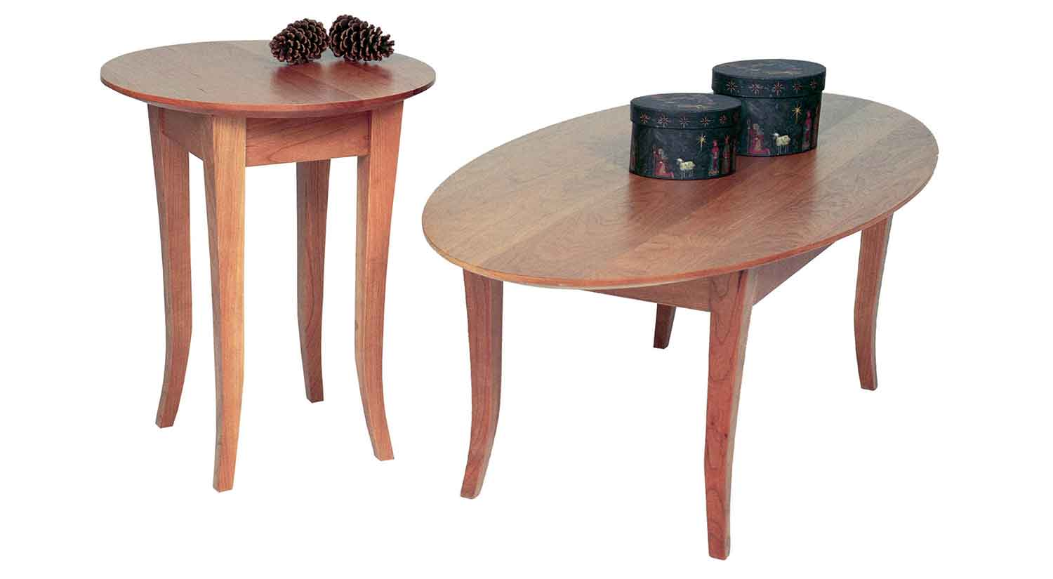 Flare Leg End Tables