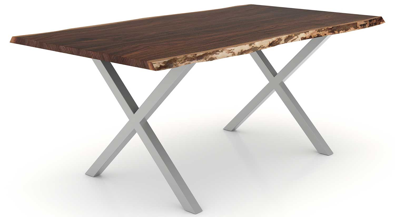Circle furniture fairfax dining table live edge dining for Circle furniture dining tables
