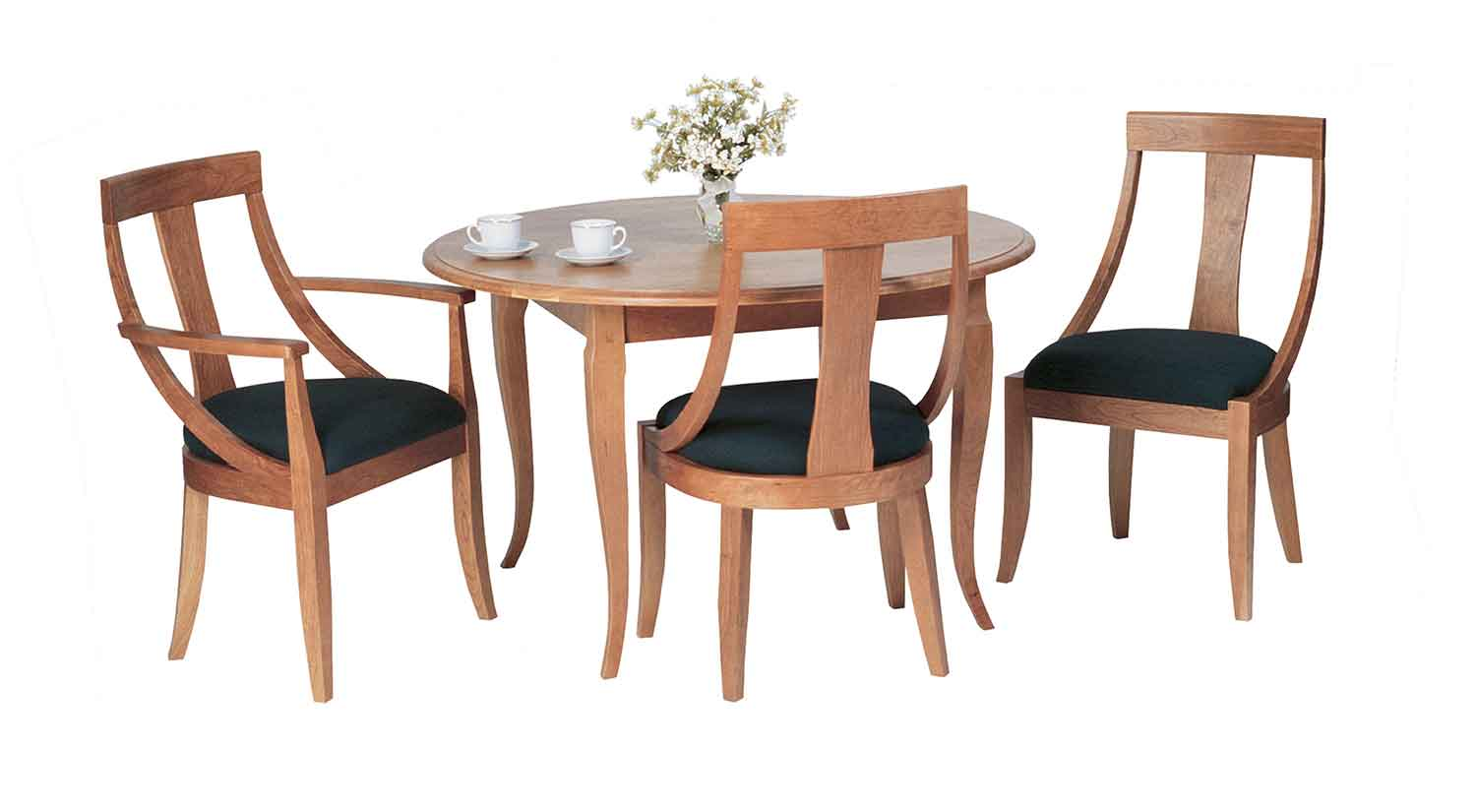 Circle furniture round french country table dining ma for French round dining table