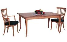 French Country Dining Table in Natural Cherry
