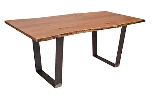 Live Edge Vergennes Dining Table