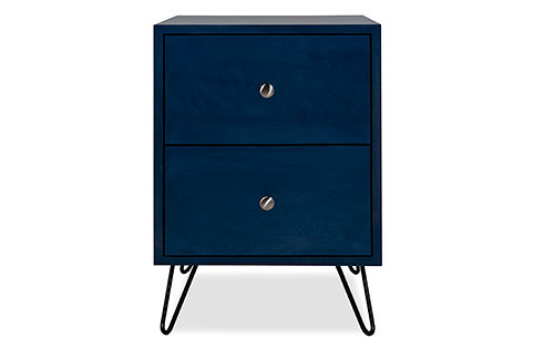 Newton 2 Drawer Nightstand