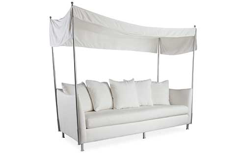 Oleander Sofa with Canopy