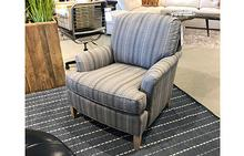 Scout Chair in One Liner Indigo