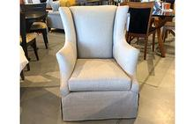 Holly Swivel Chair in White