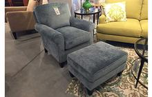 Portside Chair and Ottoman