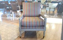Spool Chair in Stripes