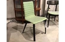 Slip Maple Side Chair in Com Duralee