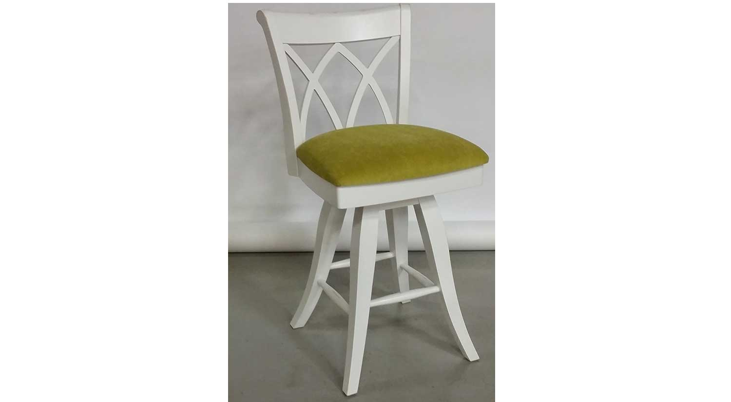 Brock Antique White Counter Stool