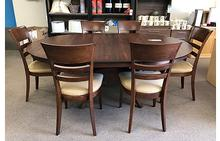 Crescent Dining Table and Finn Chairs