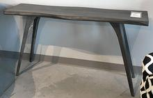 Martin Sofa Table with Wave Edge