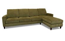 Bennet Sectional in Moss