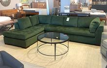 Astoria Sectional in Bottle Green