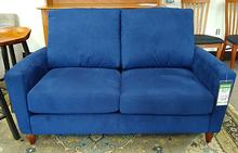Bennet Loveseat in Ultrasuede Brittany