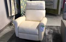 Brayden Power Recliner in White