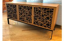 Elements Media Console in Walnut