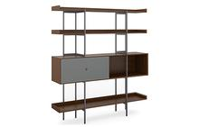 Margo Five-tier Shelf in Toasted Walnut