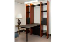 Semblance Wall Unit with Peninsula Desk