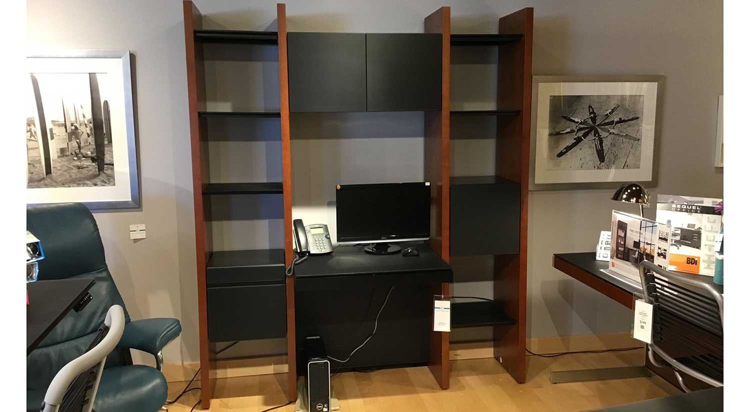 Outlet: Semblance Office Wall Unit