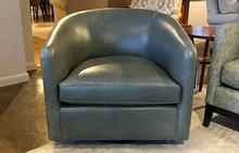Joey Swivel Glider in Libby Sky