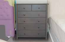 Rossport 6 Drawer Chest in Storm Grey