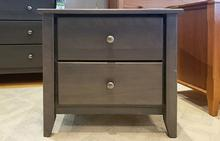 Rossport 2 Drawer Nightstand in Storm