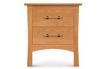 Monterey Two Drawer Nightstand in Saddle Cherry