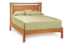 Monterey Queen Bed in Saddle Cherry
