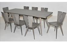 Axis Dining Set in Weathered Ash