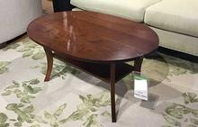 Barbara Cocktail Table in Seasoned Cherry