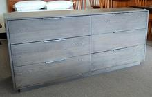 Dartmoor 6 Drawer Dresser in Ash Flannel Grey