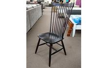 Jenna Highback Side Chair in Black
