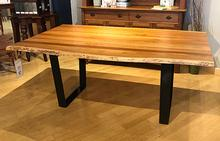 Vergennes Live Edge Dining Table in Natural Cherry