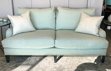Addie Apartment Sofa in Jack Spearmint