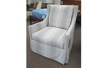 Arlo Swivel Chair in Aurora Thistle