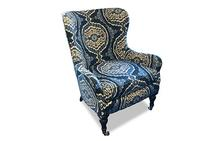 Elaine Chair in Blue