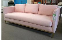 Fiona Sofa in Sparta Rose