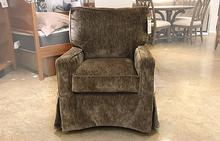 Fritz Slipcovered Swivel Glider