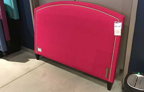 Queen Headboard in Pink