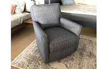 Piper Swivel Chair in Grey