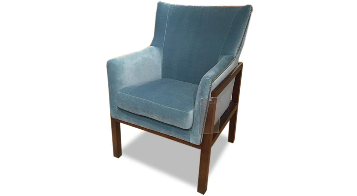 Rolly Chair in Blue