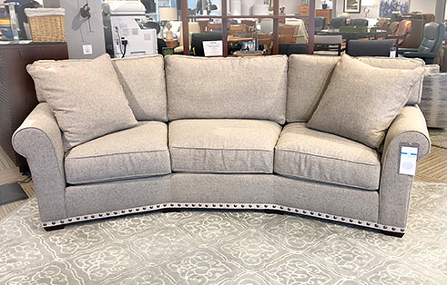 Taylor Wedge Sofa in Spa