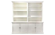 Display Wall Unit in Antique White